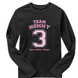 Personalized Team Long Sleeve T-Shirt