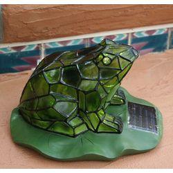 Solar Frog Garden Light