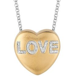 Sweethearts Diamond Love Necklace