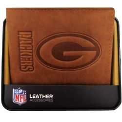 Green Bay Packers Men's Leather Billfold
