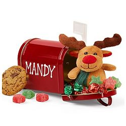 Personalized Christmas Mailbox of Treats
