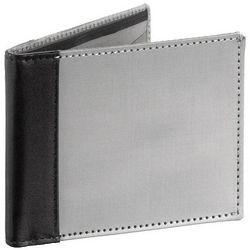 RFID Leather Accent Bi-Fold Wallet