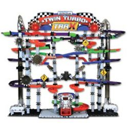 Marble Maze Mania Twin Turbo Trax Toy