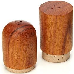 Wooden Salt and Pepper Shaker Set