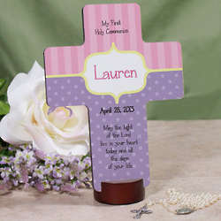 Personalized My First Holy Communion Cross
