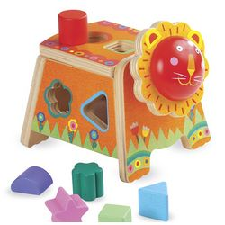 Leo Lion Shape Sorter