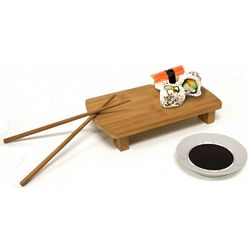 Sushi Serving Set with Prep and Serving Tray