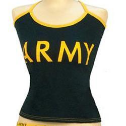 Women's Army Tank Top