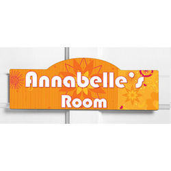 Personalized Room Sign for Kids