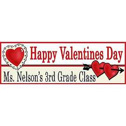 Valentine Cupid Personalized Banner