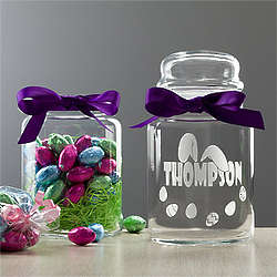 Personalized Ears to You Easter Candy Jar