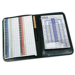 G-Stats Scorecard Holder & Stat Book
