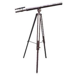 Double-Barreled Brass Telescope