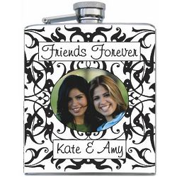 Personalized Printed Flask with Photo