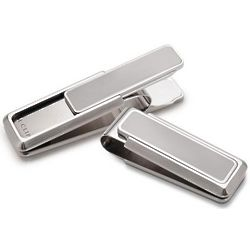 Brushed Steel Money Clip