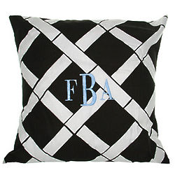 Personalized Bamboo Throw Pillow