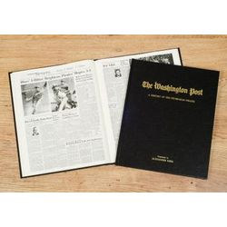 Personalized Washington Post Pittsburgh Pirates Book