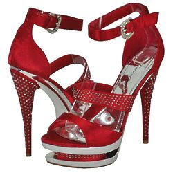 Women's Red Platform Shoes