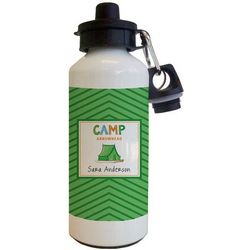 Personalized Camp Water Bottle