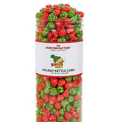 Holiday Kettle Corn Canister