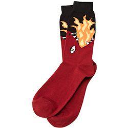 Fire-Breathing Dragon Socks
