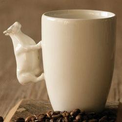 Udderly Unique Porcelain Coffee Mug
