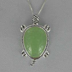 Jade Turtle Necklace