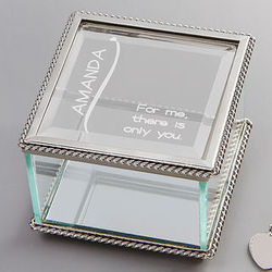 There is Only You Personalized Jewelry Box