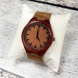 Men's Personalized Rosewood Wrist Watch
