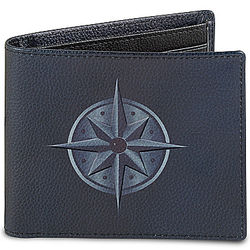 Grandson, Forge Your Own Path RFID Blocking Leather Wallet