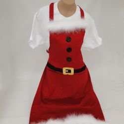 Personalized Santa's Belt Full Sized Apron