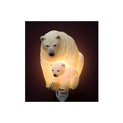 Mother and Baby Polar Bear Night Light