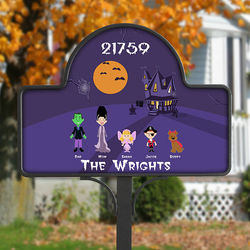Halloween Character Yard Stake with Magnet