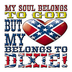 Heart Belongs To Dixie T-Shirt