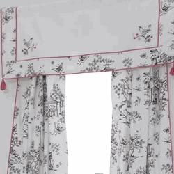 Whistle & Wink China Doll Window Panels