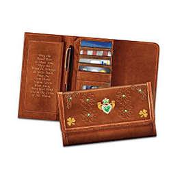 Women's Irish Pride Leather Wallet
