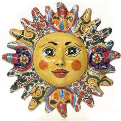 Mexican Talavera Sun Plaque