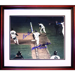 Buckner and Wilson Autographed 1986 Photo