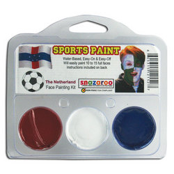 Netherlands Face Paint Kit