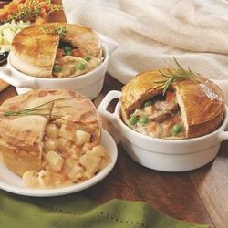4 Chicken Pot Pies