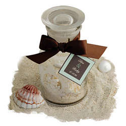 Sand And Seashells Apothecary Jar