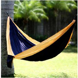Navy Blue Dreams Parachute Hammock