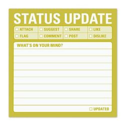 Status Update Sticky Notes
