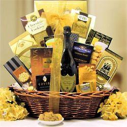The Ultimate Dom Perignon Champagne Gift Basket