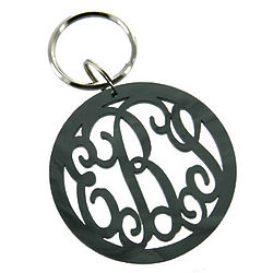 Personalized Monogram Acrylic Key Chain