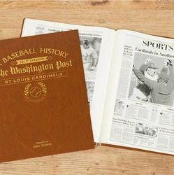 Personalized Washington Post St. Louis Cardinals Book
