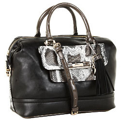 Guess Spotlight Box Satchel Handbag