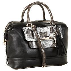 Guess Spotlight Box Satchel Handbag