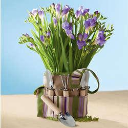 Freesia Garden Gift Tote