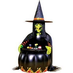 Inflatable Witch Cauldron Cooler